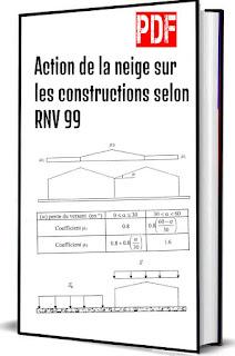 Action de la neige sur les constructions selon RNV 99 pdf