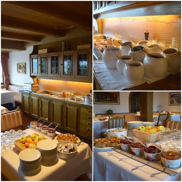 colazione in hotel a merano