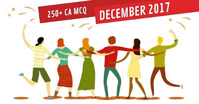 250 Current Affairs MCQ PDF December 2017
