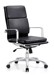 High Back Segmented Cushion Conference Chair