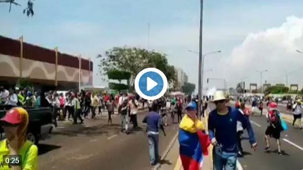 Represión brutal deja varios heridos en Maracaibo