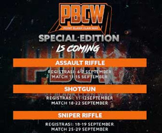 Turnamen Point Blank Indonesia Edisi Spesial Clan War (PBCW) 2017 Hadiah Cash Gratis