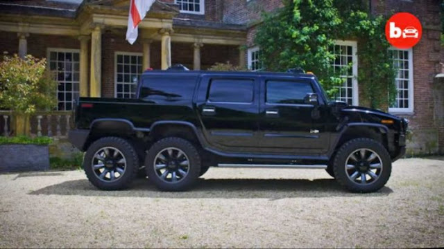 World's First 6 Wheeled Hummer SUVT