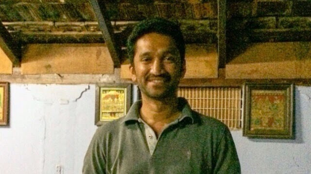 MV Chidananda of Sachidananda Ashtanga Yoga Shala Mysore