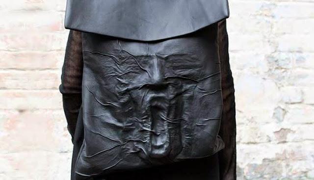 diseño maleta o Mochila de miedo