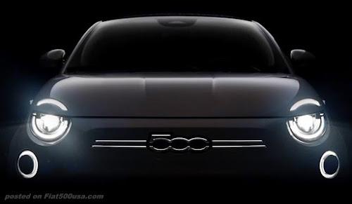 new fiat 500e BEV