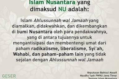 Argumentasi Islam Nusantara Dari Berbagai Aspek (1)