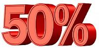 Promotion -50%  sur Franchise Bris des Vitrages habitation