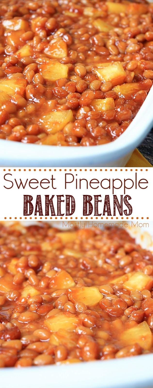 Sweet Pineapple Baked Beans recipe