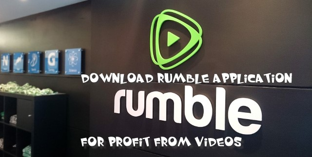 Download the Rumble app to earn money from videos - for