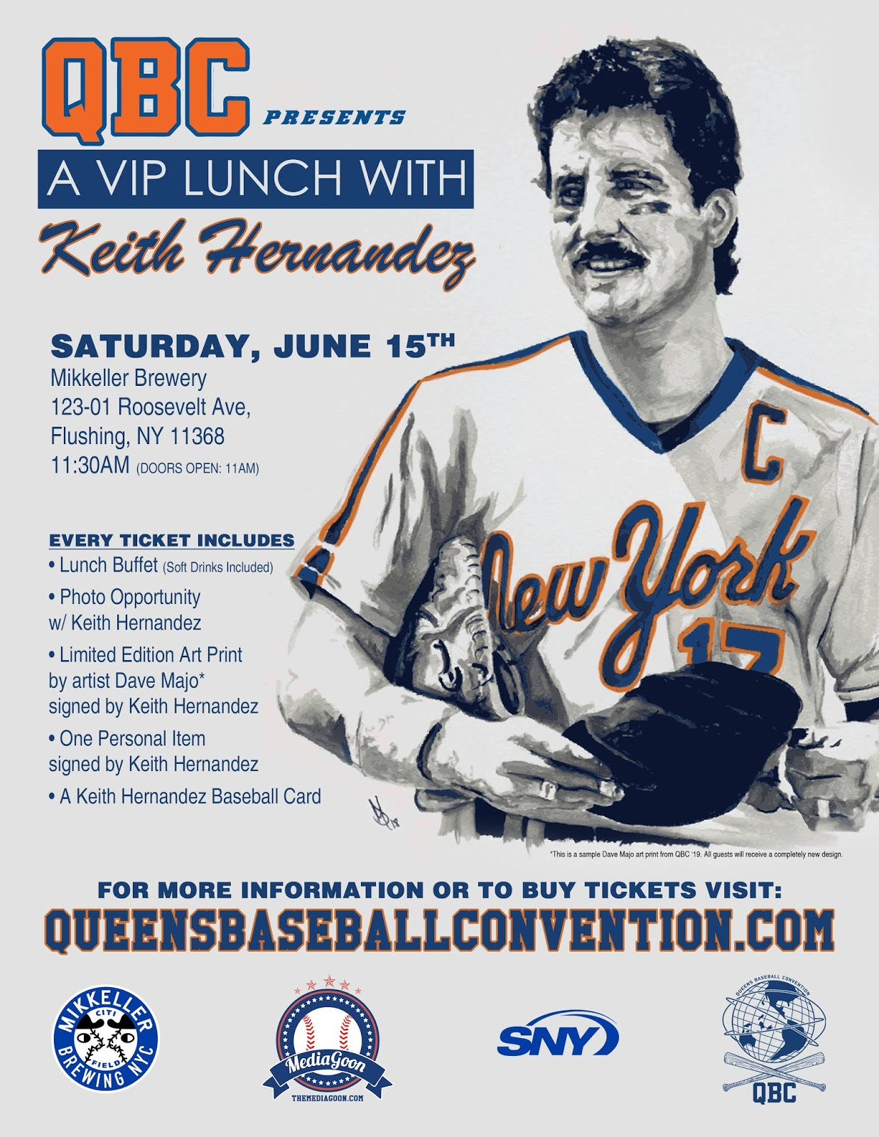 Themediagooncom At Qbconventions Lunch With Keith Hernandez