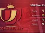 Drawing Semifinal Copa del Rey 2020/2021 Barcelona Bertemu Sevilla