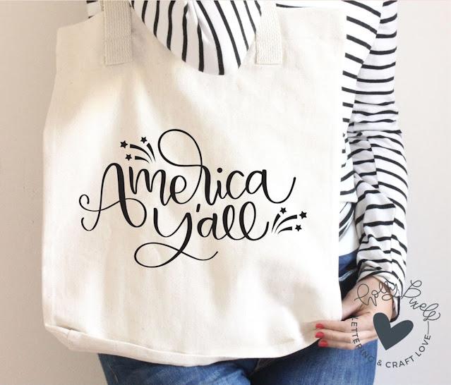 freebie friday, free silhouette studio file, free studio design, t-shirt design, tote bag design