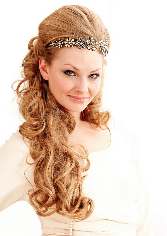 Excellent Cool Celebrity Fashionable Bridal Hairstyle 2011 Hairstyles For Men Maxibearus