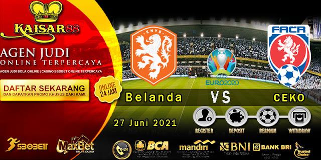 Prediksi Bola Terpercaya Piala Euro Belanda vs Republik Ceko 27 Juni 2021