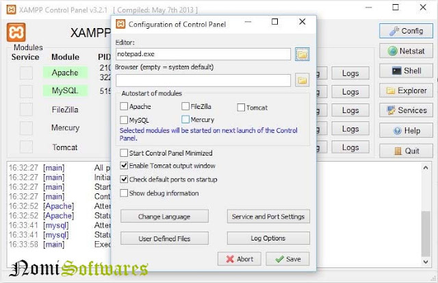 XAMP SERVER 5.6.12 Free Download