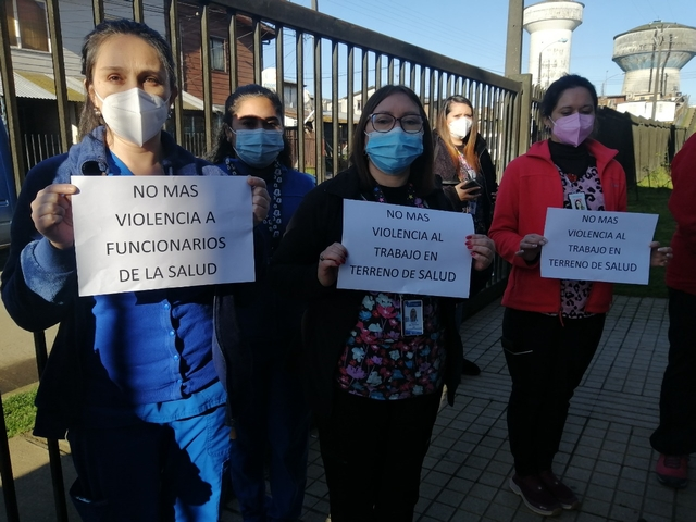 Osorno: Repudian agresión a funcionarios de Salud