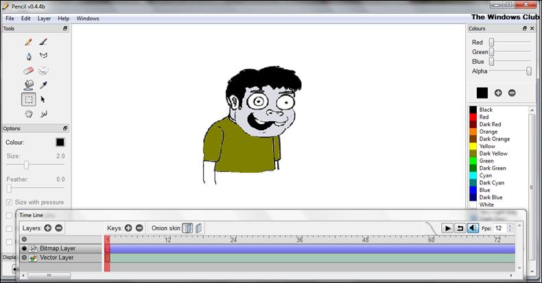 Cartoon Animation Software