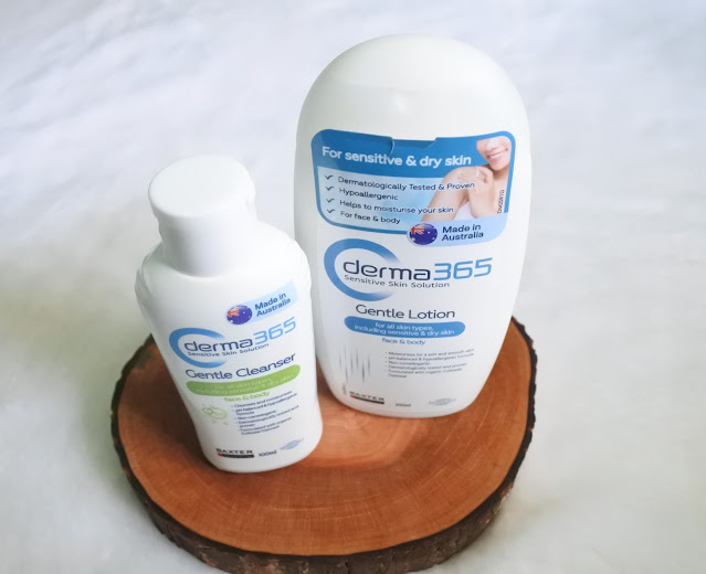 Derma 365 Gentle Cleanser & Derma 365 Gentle Lotion