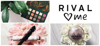 RECENZIA kozmetiky RIVAL loves me (očná paletka, špirála, rozjasňovač)