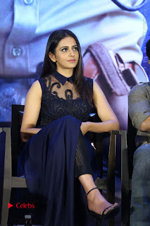 Actress Rakul Preet Singh Stills in Beautiful Blue Long Dress at Dhruva Salute to Audience Event  0080.JPG