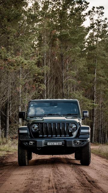 Forest, Jeep Wrangler, Jeep, Black Car, Suv