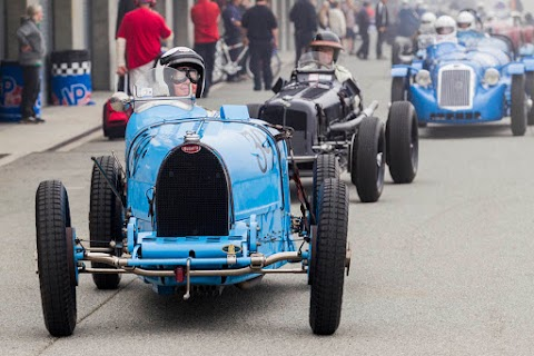 SCRAMP re-launched the famed Monterey Historic Automobile Races
