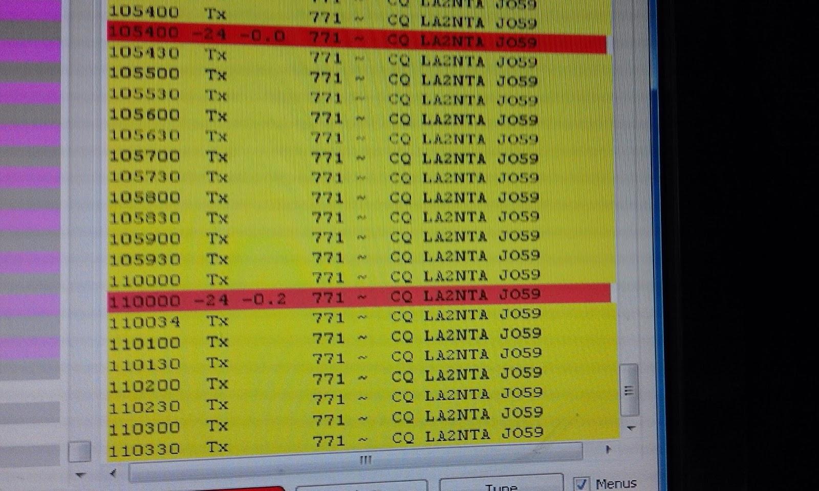 FT8 anomaly or long delayed echo? • AmateurRadio com