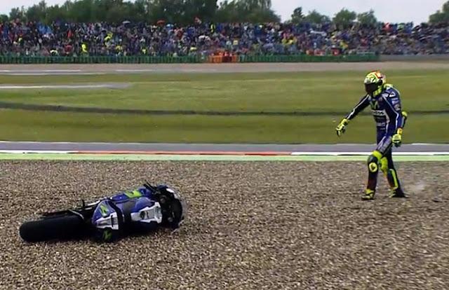 Gagal Finis, Rossi : Saya Memang Melakukan Hal Bodoh