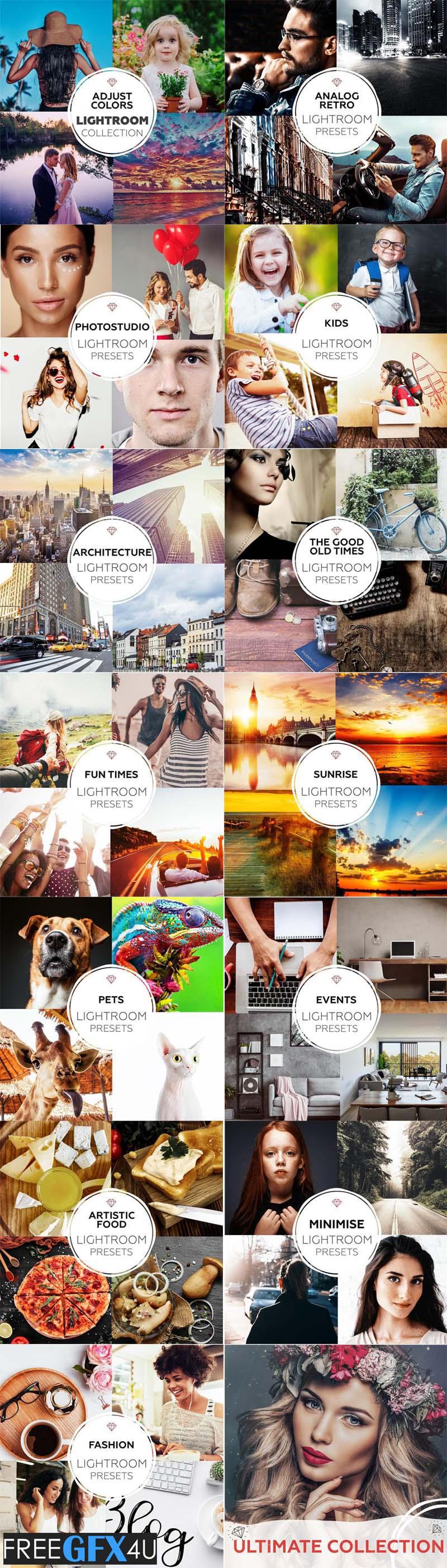 2430 Ultimate Photography Lightroom presets Bundle