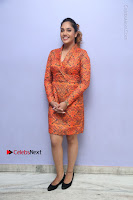 Actress Mumtaz Sorcar Stills in Short Dress at Guru Movie Success meet  0071.JPG