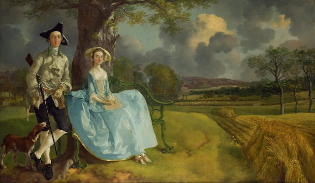 http://en.wikipedia.org/wiki/File:Thomas_Gainsborough_-_Mr_and_Mrs_Andrews.jpg
