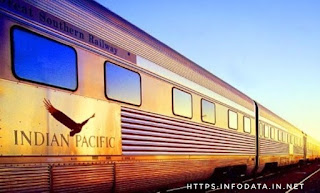 Indian Pacific train info Data India