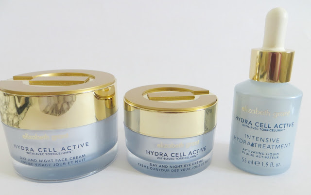 Elizabeth Grant Hydra Cell Active Skin Care Range