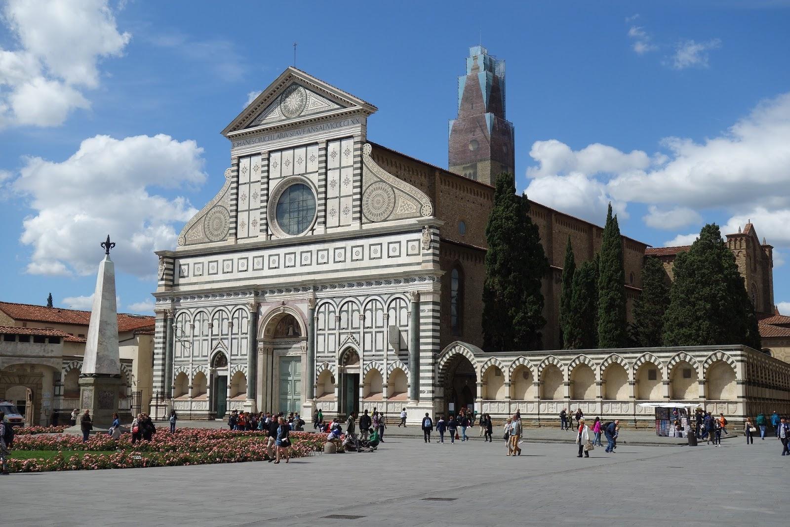 Santa Maria Novella Florencia fachada