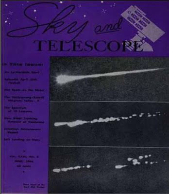 Sky and Telescope Magazine Cover - June 1966