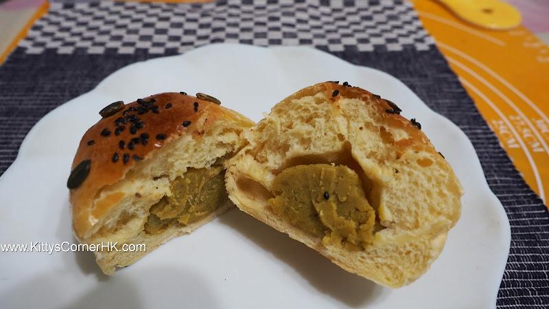 Sweet Potato Bread 地瓜 蕃薯包 自家烘焙 食譜 home baking recipes