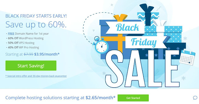 bluehost black friday sale 2019