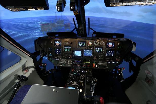 Sikorsky S-76 cockpit