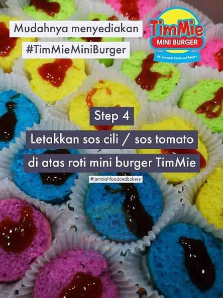 Mini Burgers Comel Confrim budak-budak suka
