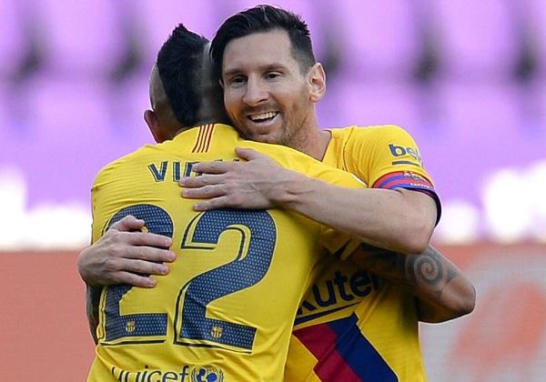 اهداف مباراة برشلونة وبلد الوليد 01 فى الدورى الاسبانى 11-7-2020