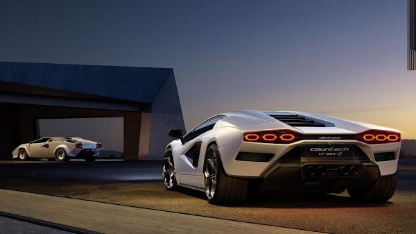 Lamborghini Countach LPI 800-4: preço € $ 2,64 milhões (R$ 16,34 milhões)
