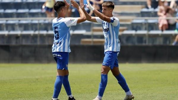 El Málaga pega primero en el partido de ida ante el Athletic de la Copa de Campeones (2-0)