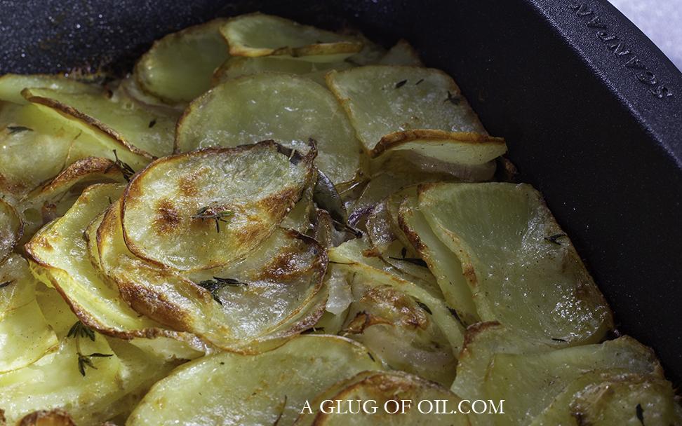 Quick Dauphinoise Potatoes