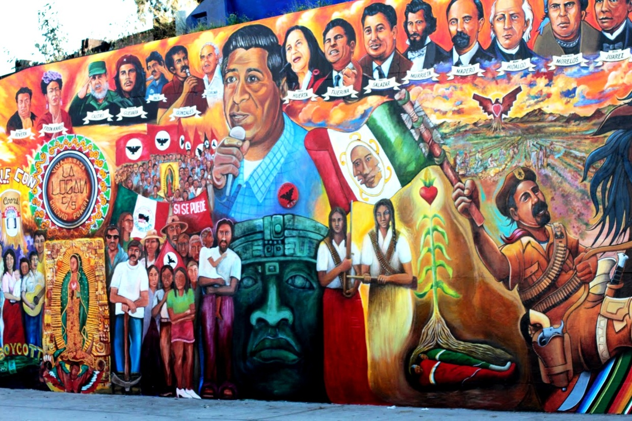 2018 conference on chicano history historiography and for Chicano mural movement