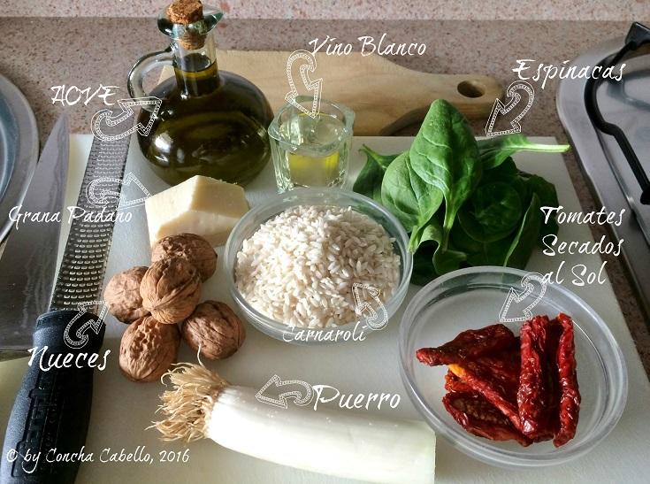 risotto-espinacas-ingredientes