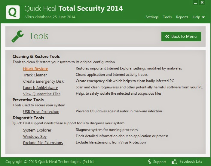 quick heal total security crack 2015 free
