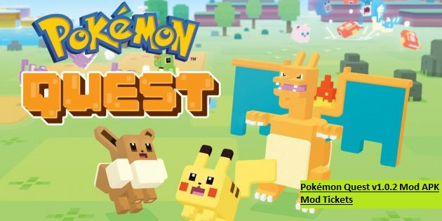 Pokémon Quest v1.0.2 Mod APK Mod Tickets