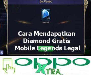 Cara Mendapatkan Diamond Gratis Mobile Legends Legal