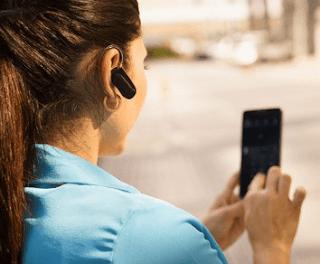 Bluetoothのワイヤレスヘッドセット